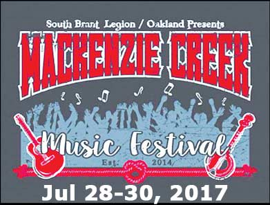 MacKenzie Creek Music Festival