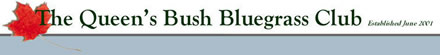 Queensbush Bluegrass Club logo