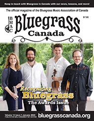 Bluegrass Canada Magazine Issue 14-1 January 2020