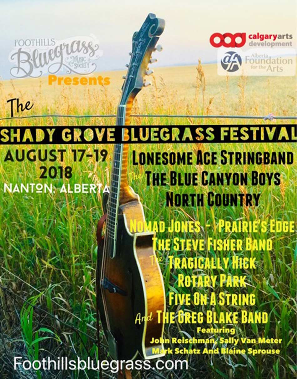 Shady Grove Bluegrass Festival 2017