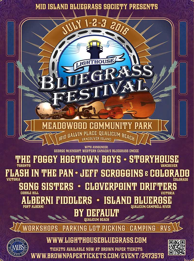 Lighthouse Bluegrass Festival Website