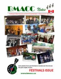 Bluegrass Canada magazine Issue 3-2 April 2009