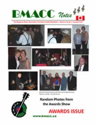 Bluegrass Canada magazine Issue 4-1 January 2010