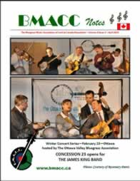 Bluegrass Canada magazine Issue 4-2 April 2010