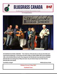 Bluegrass Canada magazine Issue 6-2 April 2012